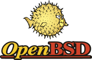 Powered by OpenBSD